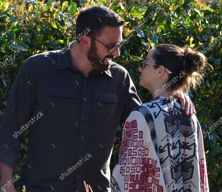 Editorial photo of Ben Affleck and Ana de Armas out and about, Los Angeles, USA - 29 Jun 2020