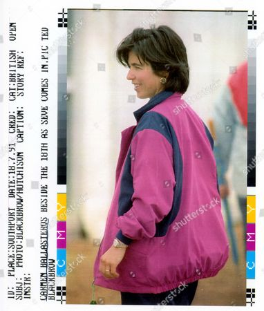 Carmen Ballesteros (divorced January 2005) Beside The 18th As Seve Comes In. Severiano Ballesteros - Golfer - 1991 Picture Desk ** Pkt5247 - 379048