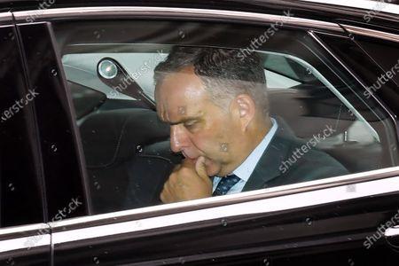 Sir Mark Sedwill, Cabinet Secretary, arriving at No.10 Downing Street.