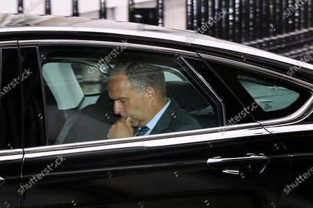 Stock Picture of Sir Mark Sedwill, Cabinet Secretary, arriving at No.10 Downing Street.