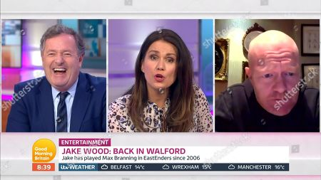 Piers Morgan, Susanna Reid, Jake Wood