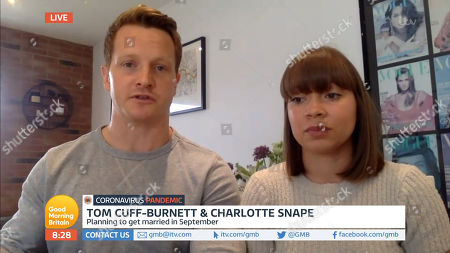 Tom Cuff-Burnett and Charlotte Snape