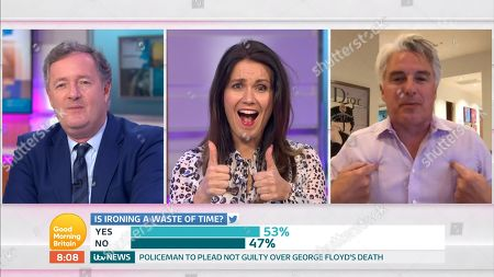 Piers Morgan, Susanna Reid, John Barrowman