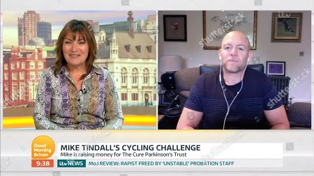 Stock Picture of Lorraine Kelly, Mike Tindall