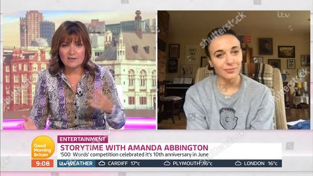 Stock Image of Lorraine Kelly, Amanda Abbington