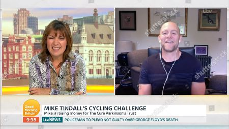 Stock Photo of Lorraine Kelly, Mike Tindall