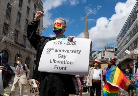 Editorial image of Veterans from the London Gay Liberation Front 1970-74 - 27 Jun 2020