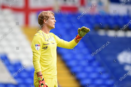 Goal Keeper Jonas Lossl of Huddersfield Town.