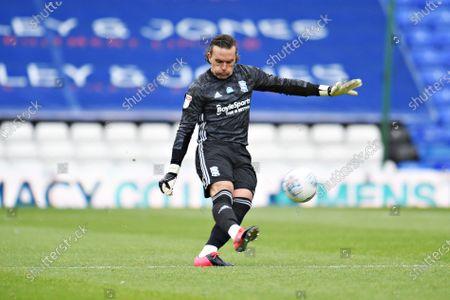 Goal Keeper Lee Camp of Birmingham City.