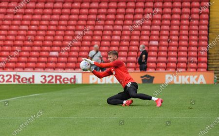 Barnsley keeper Brad Collins.