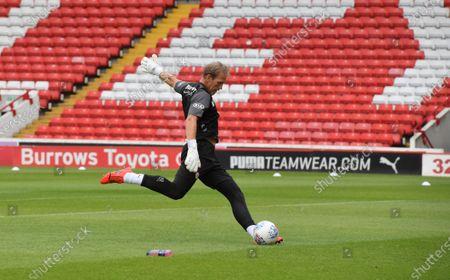 Barnsley's goalkeeping coach Kevin Pilkington.