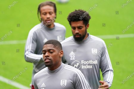Ivan Cavaleiro of Fulham during the warm up