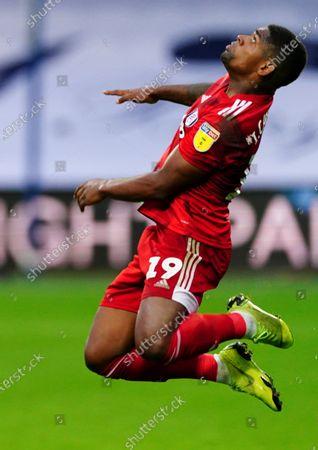 Ivan Cavaleiro of Fulham jumps