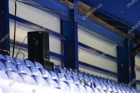 Speakers in the stands to provide customised fan noise during the match
