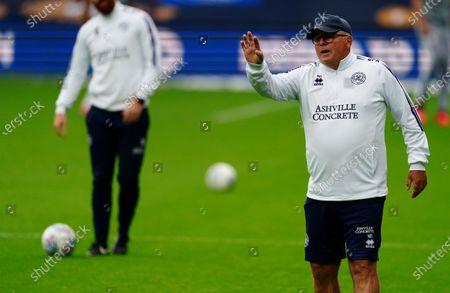 QPR coach Neil Banfield