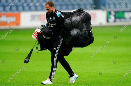 Fulham kit man Mark Harrison