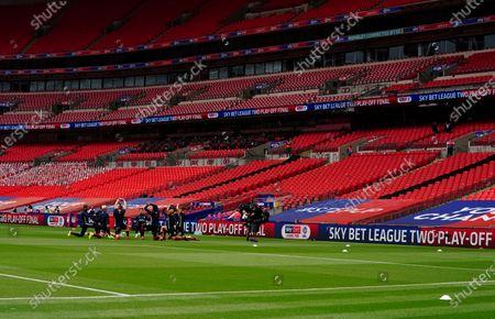 Editorial picture of Queens Park Rangers v Fulham, Sky Bet Championship, Football, The Kiyan Prince Foundation Stadium, London, UK - 30 Jun 2020