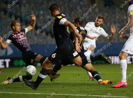 Stuart Dallas scores Leeds first goal