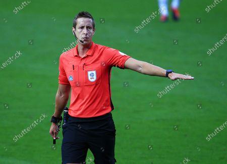 Referee Mr John Brooks