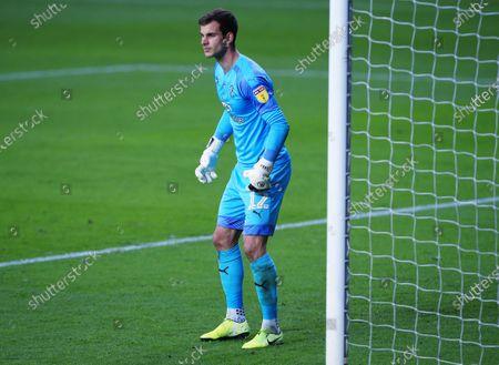 Luton Town goalkeeper Simon Sluga