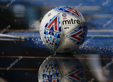 The EFL Mitre match ball
