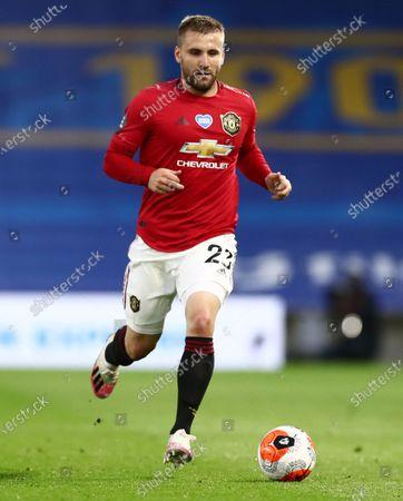 Luke Shaw of Manchester United.
