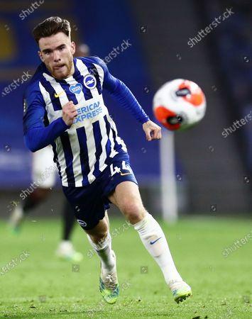Aaron Connolly of Brighton & Hove Albion.