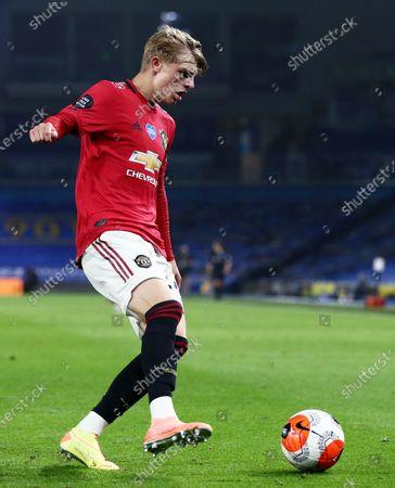 Brandon Williams of Manchester United.