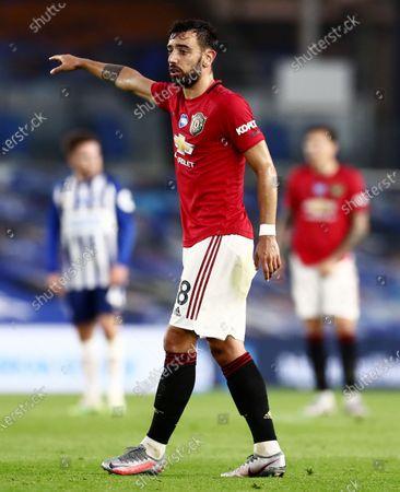 Bruno Fernandes of Manchester United.