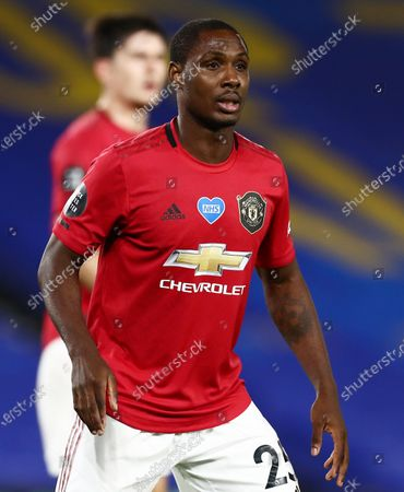 Stock Picture of Odion Ighalo of Manchester United.