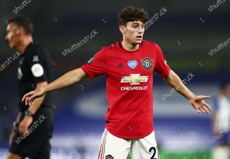 Daniel James of Manchester United/