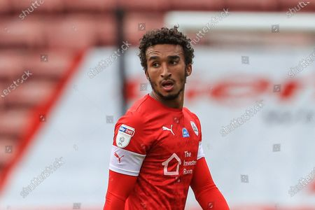 Jacob Brown (7) of Barnsley during the game