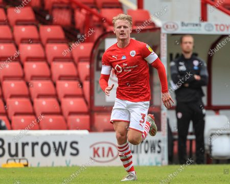Ben Williams (3) of Barnsley during the game
