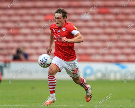 Stock Picture of Callum Styles (20) of Barnsley breaks wit the ball