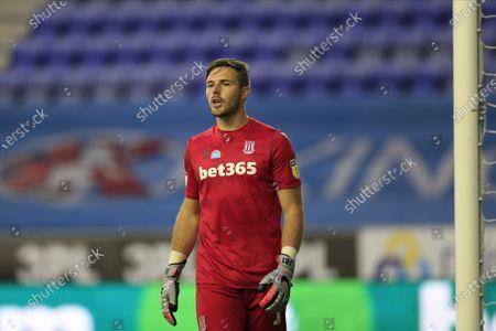 Jack Butland (1) of Stoke City