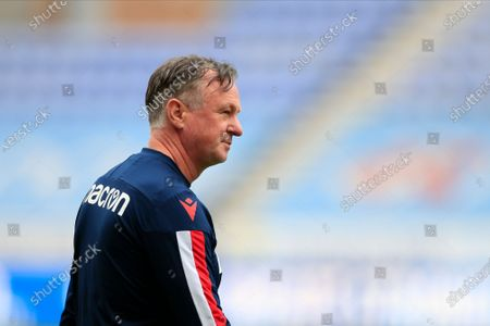 Michael O'Neill the Stoke City manager before the game