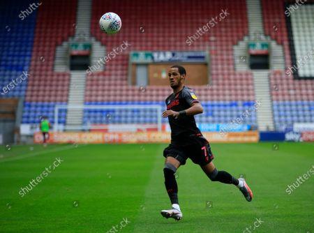 Editorial image of Wigan Athletic v Stoke City, Sky Bet Championship, Football, DW Stadium, Wigan, UK - 30 Jun 2020
