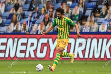 Ahmed Hegazi (26) of West Bromwich Albion in action during the game