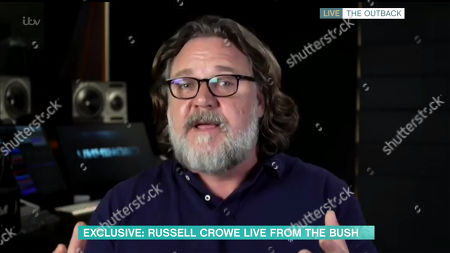 Stock Image of Russell Crowe