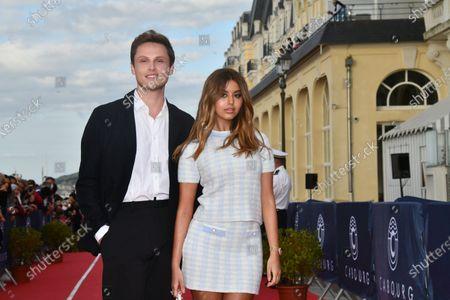 Alexandre Wetter and Zahia Dehar
