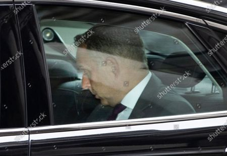 Cabinet Secretary Sir Mark Sedwill arrives in Downing Street. Sir Mark Sedwill has announced that he will stand down in September.
