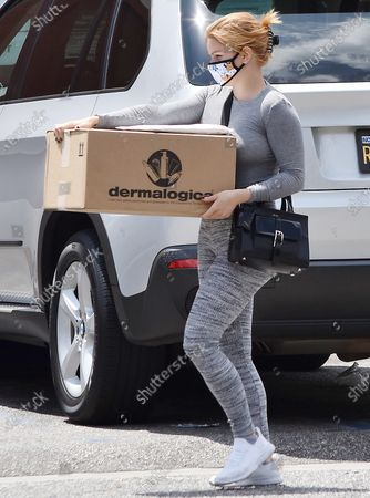 Editorial image of Ariel Winter out and about, Los Angeles, California, USA - 29 Jun 2020