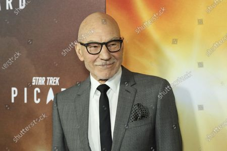 """Patrick Stewart attends the LA Premiere of """"Star Trek: Picard,"""" in Los Angeles. The award-winning actor best known as Capt. Jean-Luc Picard of """"Star Trek"""" has a deal with Gallery Books for a """"revealing and heartwarming look"""" into his life and times, the publisher announced Tuesday, June 30. A title and release date will be determined later"""