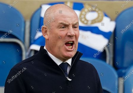 Mark Warburton Manager of QPR reacts on the sideline