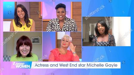Editorial photo of 'Loose Women' TV show, London, UK - 30 Jun 2020