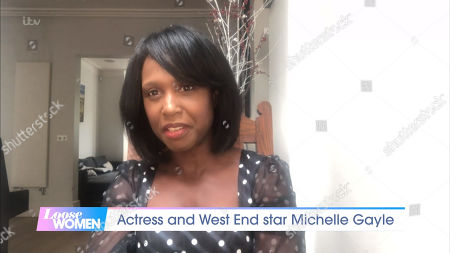 Stock Image of Michelle Gayle