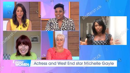Andrea McLean, Brenda Edwards, Denise Welch, Janet Street-Porter, Michelle Gayle