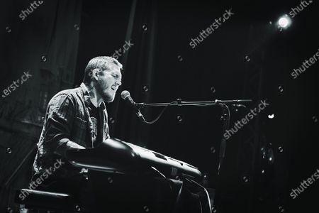 Editorial image of Brian Fallon live in concert at Komedia, Bath, UK - 24 Feb 2019