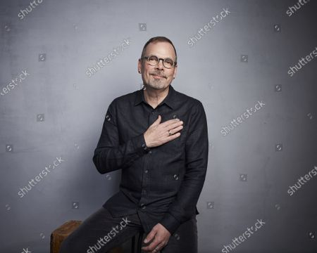 """Stock Picture of Director David France poses for a portrait to promote the film """"Welcome to Chechnya"""" during the Sundance Film Festival in Park City, Utah. The documentary is about an underground pipeline created to rescue LGBTQ Chechens from the Russian republic where the government has waged a crackdown of gays"""