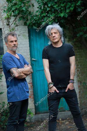 Olivier Gerard and Nicola Sirkis